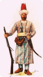 Afsharid-Fusilier
